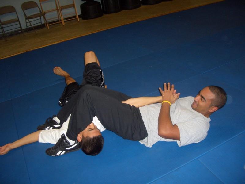 jujitsu leg bar pic: